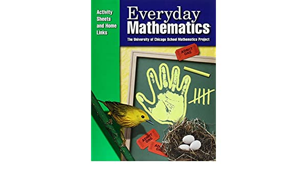 Everyday Mathematics / Grade K Consumable Activity Sheets and Home ...