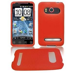 """HTC PC36100 EVO 4G """"PDA"""" PREMIUM Silicon Skin Solid Pink"""