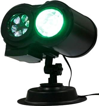 Zzh LED Doble Lámpara De Proyector 2-En-1 Patrones Móviles con ...