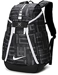 wholesale dealer 411ca c14a3 Hoops Elite Max Air Team 2.0 Graphic Basketball Backpack Black White