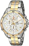 Casio Men's 'Edifice' Quartz Stainless Steel Casual Watch, Color:Two Tone (Model: EFR547SG-7A9V)