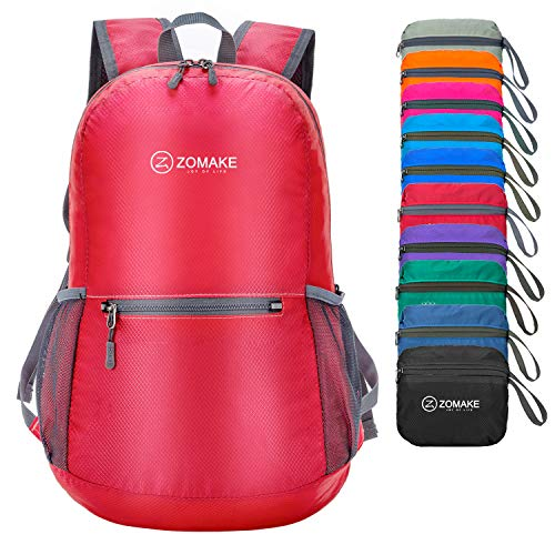 ZOMAKE Ultra Lightweight Packable Backpack Water Resistant Hiking Daypack,Small Backpack Handy Foldable Camping Outdoor Backpack Little -