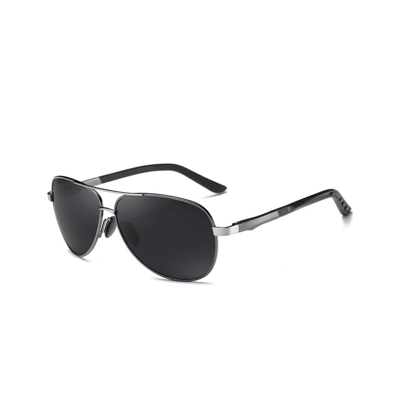 Amazon.com: Aluminum Men Polarized Sunglasses Men Brand ...