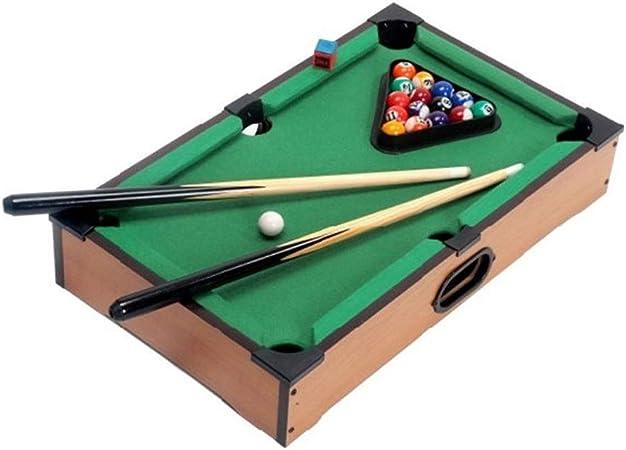 Juguete billar mesa de billar Niños interior y exterior de fútbol Juego de billar Niños Adultos