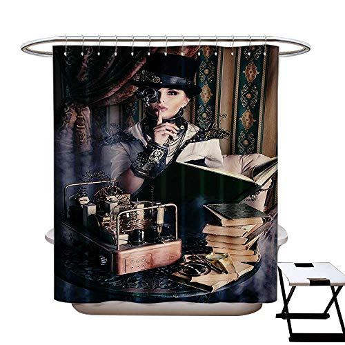 Gothic Shower Curtain Collection by Portrait of Steampunk