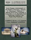 Anna Desper, Administratrix of the Estate of Thomas J. Desper, Jr. , Deceased, Petitioner, V. Starved Rock Ferry Company, a Corporation. U. S. Supreme C, Joseph D. Ryan, 1270373242