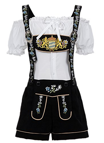 Alivila.Y Fashion German Bavarian Beer Oktoberfest Costume Women 31646-S -