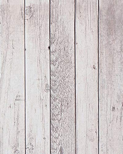 Distressed Wood Wallpaper Reclaimed Wood Contact Paper Self Adhesive Wallpaper Removable Wallpaper Stick and Peel Wood Plank Wallpaper Rustic Wood Look Wallpaper Vinyl Faux Wallpaper Roll 17.7x78.7