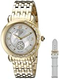 GV2 by Gevril Women's 9891 Analog Display Quartz Gold Watch