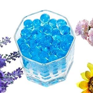 Chicho 100bolsas cristal azul barro suelo perlas de agua para la siembra Decoración de la boda Suministros
