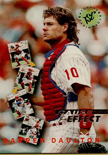 1995 Topps Stadium Club First Day Issue #237 Darren Daulton CE - Day First Stadium Club Issue
