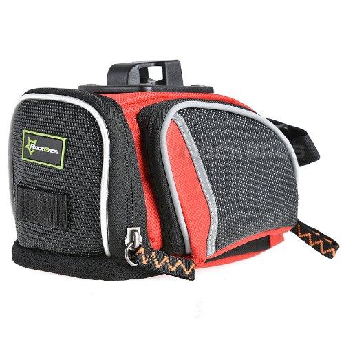 RockBros Road Mountain Bike Saddle Bag Seat Post Bag Fixed Gear Fixie