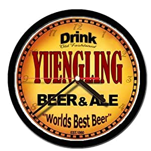 YUENGLING beer and ale cerveza wall clock