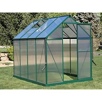 brighton walkin greenhouse kit 6x8