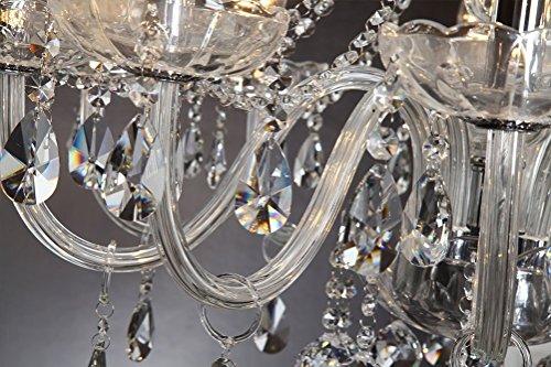 Kristall Kronleuchter 60 Cm ~ Dst marie therese retro klar kristall & glas 10 zweig pendelleuchte