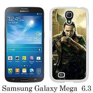 PAN Personalized Design Loki Asgard White Samsung Galaxy Mega 6.3 i9200 i9205 Case