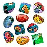 Li'l Gen Rock Painting Kit and Mini Tile Art for