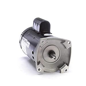 Pump Motor, 2, 1/4 HP, 3450/1725,230 V, 56Y