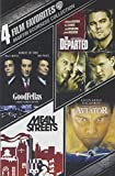 4 Film Favorites: Martin Scorsese (Goodfellas, The Departed, The Aviator, Mean Streets: Special Edition)