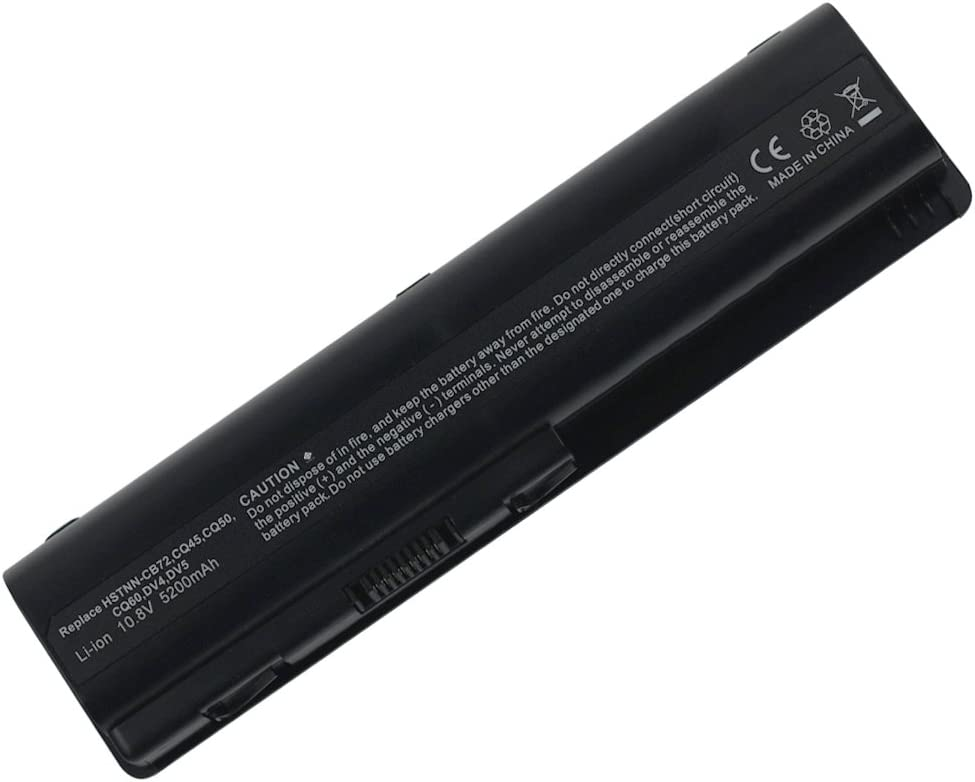 Bay Valley Parts Laptop Battery Replacement for HP Pavilion DV4 Compaq Presario CQ60 G60 CQ61 CQ50 G71 CQ40 G50 G61 CQ60-615DX G71-340US CQ45 G60-230US G60-535DX DV6-1355DX CQ70 HDX16;fit P/N EV06 4