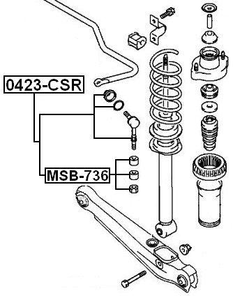 amazon febest mitsubishi rear sway bar link oem 4056a037 Neon Sway Bar Links Installed amazon febest mitsubishi rear sway bar link oem 4056a037 automotive