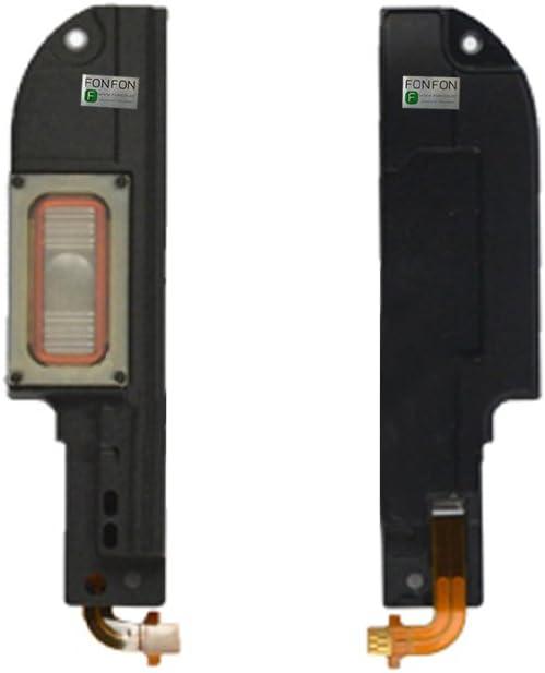 FONFON La Antena de bocina Timbre Altavoz Altavoces Ringer para HTC One M8 Negro