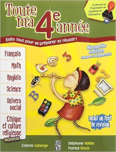 Toute Ma 4e Annee N E Amazon Ca Collectif Books