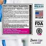 NutraBlast Boric Acid Vaginal Suppositories