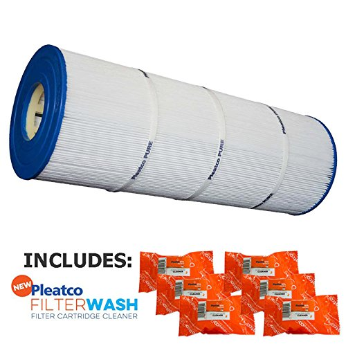 Waterco Cartridge - Pleatco Cartridge Filter PJAN75 Jandy Industries CT-75 Waterco Trimline CC-75 A0103500 62049 w/ 6x Filter Washes