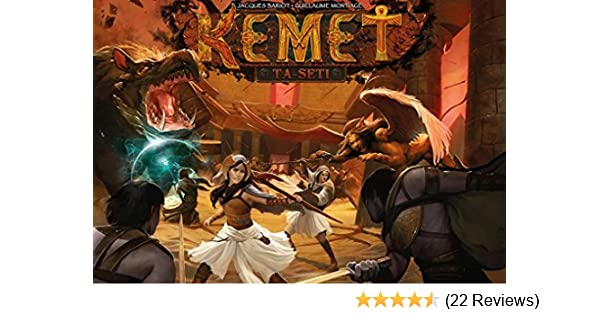 Kemet PSI KEM02 Ta-Seti Expansion Publisher Services Inc