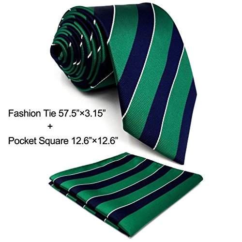 mens blue green ties - 3