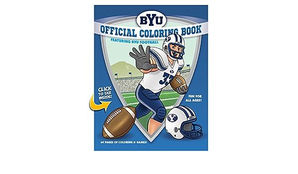 BYU Football Coloring Book: Collegiate Coloring Books, Collegiate Coloring  Books, LLC: 9780990303800: Amazon.com: Books