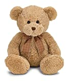 Bearington Benson Plush Stuffed Animal Teddy Bear, Brown 17""