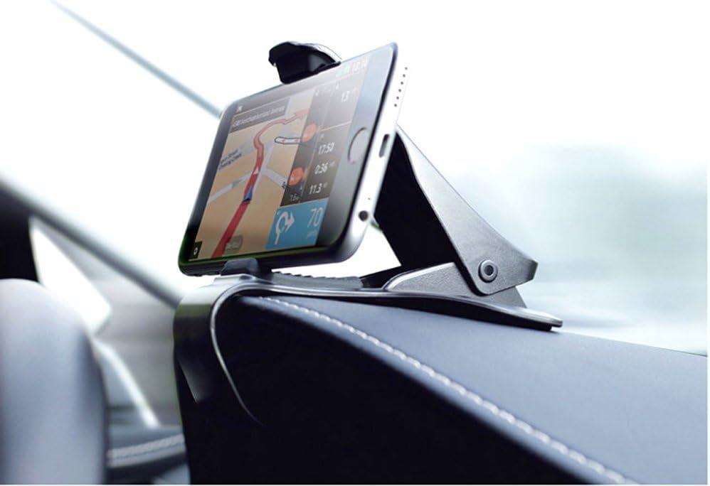 Brinny T/él/éphone De Voiture Tableau De Bord Montage Universel T/él/éphone Portable Clip GPS Support Mobile T/él/éphone Stand dans la Voiture-2pcs