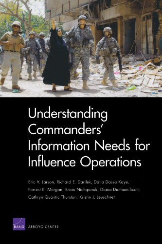 Understanding Commanders' Information Needs for Influence Operations (Rand Corporation Monograph)