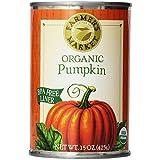 Farmer's Market Foods, Organic Canned Pumpkin, 15 Ounce (Tamaño: 15 Ounce (Pack of 1))