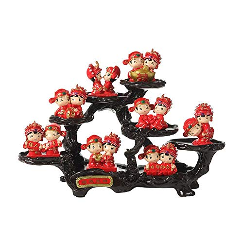 - Resin Handicraft Decoration Creative Home Living Room Chinese Style, Ganoderma lucidum, Dragon and Phoenix, Tree Stump 351324CM