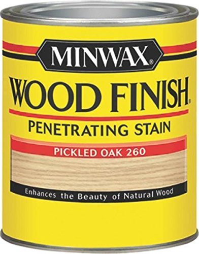 New Minwax 22600 Pickled Oak Interior Oil Based Wood Finish Stain 6209134