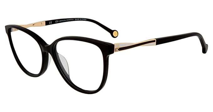 1c8b641e0d Image Unavailable. Image not available for. Color  Eyeglasses CH by Carolina  Herrera VHE 780 K Black 0700