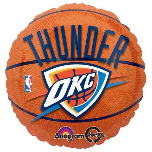 Anagram International Oklahoma City Thunder Flat Party Balloons, 18