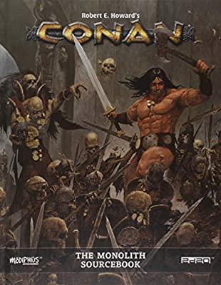 Conan the Monolith Conan RPG Supp., Full Color, Hardback: Amazon.es: Modiphius: Libros en idiomas extranjeros