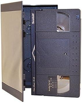 Scotch (Pack of 3) Cintas de Casete 90 Minutos de vídeo Profesional Cinta VHS Hi-Fi estéreo 3 m: Amazon.es: Electrónica