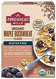 Arrowhead Mills Organic Gluten-Free Cereal, Maple Buckwheat Flakes, 10 oz. Box (Pack of 6)