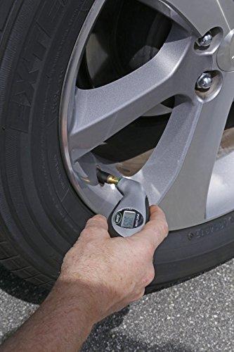 Slime 20017 Digital Tire Gauge with Lighted Tip, 5-150 PSI
