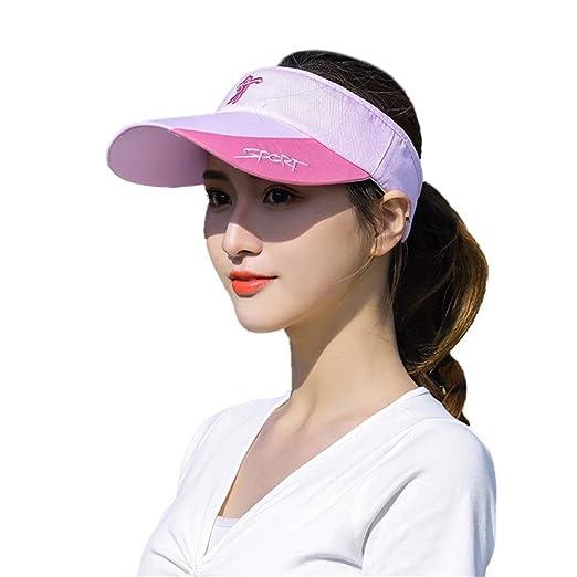 Fengbingl-sp Visera de Verano para Mujer Sombrero de Verano para ...