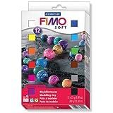 FIMO フィモ ソフト マテリアルパック12色 8023-01LJ
