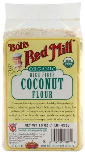 Bobs Red Mill Coconut Flour (Bob's Red Mill Flour Coconut Organic, 16-ounces (Pack)