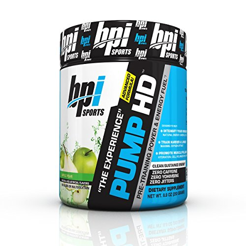 BPI Sports Pre-Training Power and Energy Fuel, Apple Pear, 8