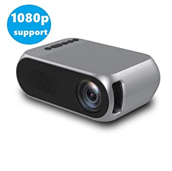 Cxz El proyector casero portátil Mini HD, Ultra HD + 1920 x 1080 ...