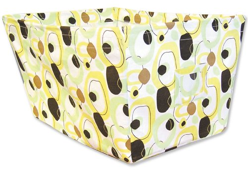(Trend Lab Fabric Storage Bin, Gigi Print, Large )